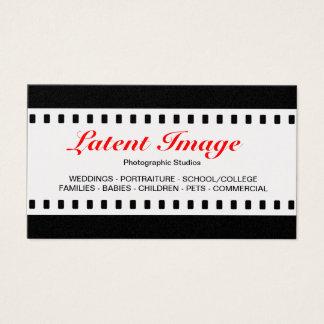 35mm Film (Platinum) Business Card