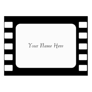 35mm Film, Your Name Here Large Business Cards (Pack Of 100)