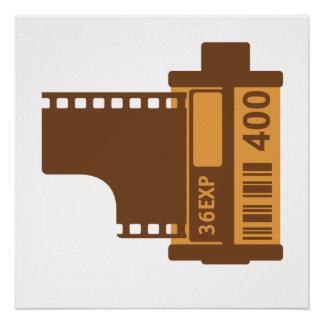 35mm SLR Camera Film Poster