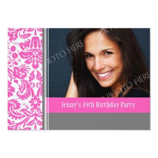 35ta invitación de la fiesta de cumpleaños de la invitación 12,7 x 17,8 cm