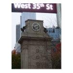 35ta postal del oeste NYC de la calle por CricketD