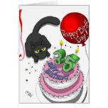 35ta tarjeta de cumpleaños del ónix