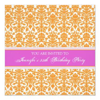 35tas invitaciones de la fiesta de cumpleaños del invitación 13,3 cm x 13,3cm