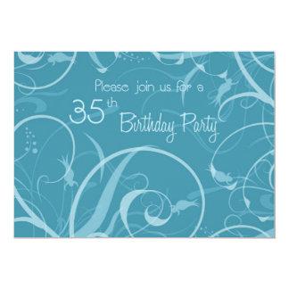 35tas tarjetas de la invitación de la fiesta de invitación 12,7 x 17,8 cm