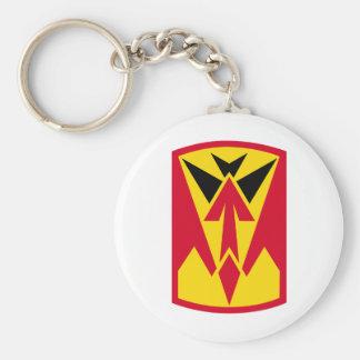 35th Air Defense Artillery Brigade Basic Round Button Keychain