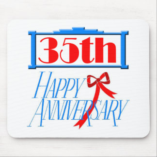 35th anniversary 3 mouse pad