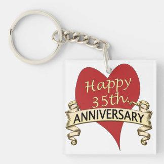 35th. Anniversary Keychain