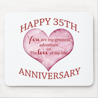 35th. Anniversary Mouse Pad