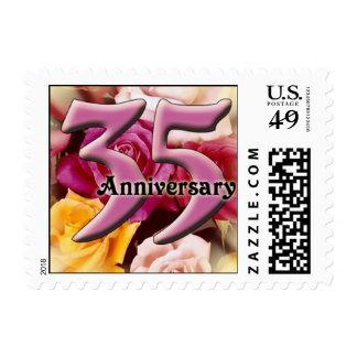 35th Anniversary Postage Stamp