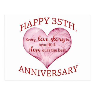 Happy 35th Anniversary Gifts On Zazzle