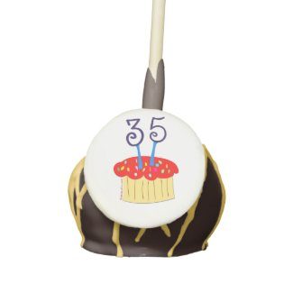 35th Birthday Cake Pops