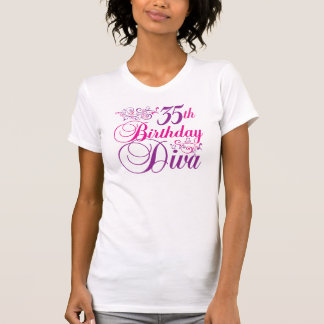 35th Birthday Diva T-Shirt