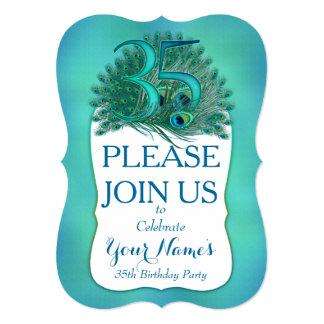 35th Birthday Invitations