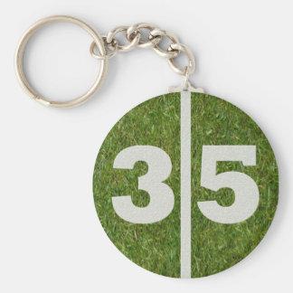 35th Birthday Party Favor Keychain