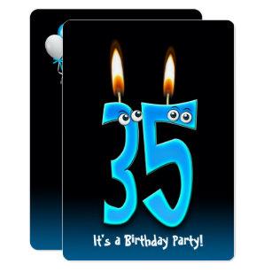 Funny 35th birthday invitations zazzle 35th birthday party invitation filmwisefo