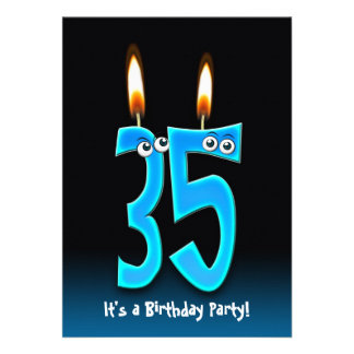 35th Birthday Party Announcement