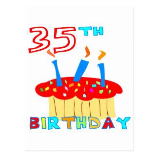 35th Birthday Postcard