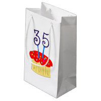 35th Birthday Small Gift Bag