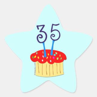 35th Birthday Sticker