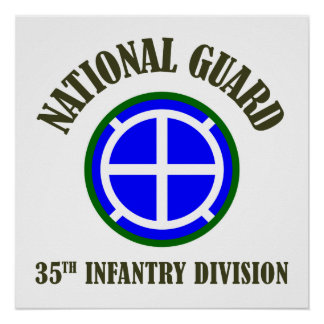 35th Infantry Div | National Guard Poster