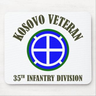35th Infantry Division - Kosovo Mouse Pad