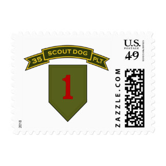 35th IPSD - 1st Infantry Div Stamps