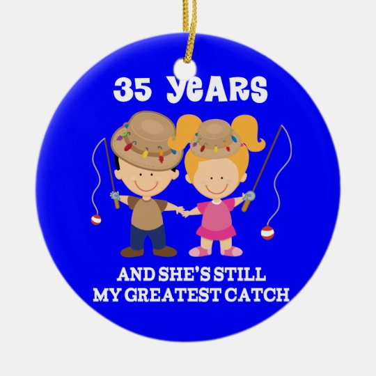 Gifts For 10th Wedding Anniversary For Him: 35th Wedding Anniversary Funny Gift For Him Ceramic