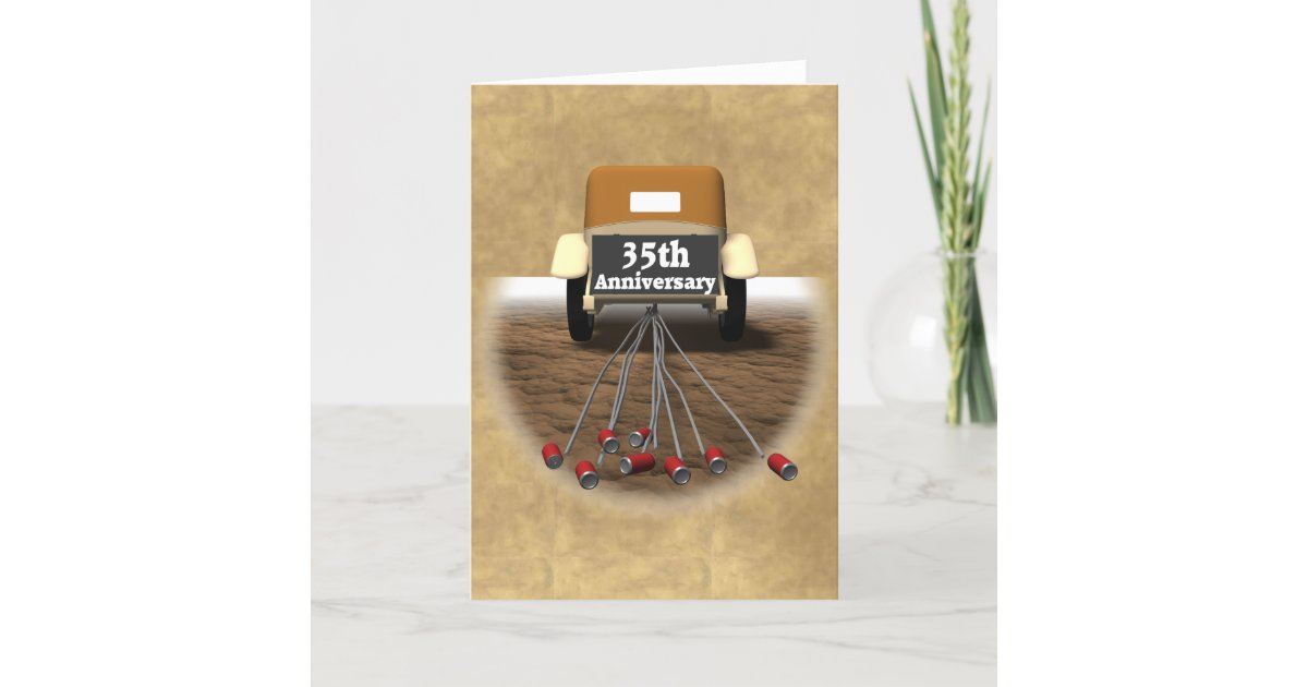 35 Wedding Anniversary Gift Ideas: 35th Wedding Anniversary Gifts Card