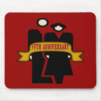 35th Wedding Anniversary Gifts Mouse Pad