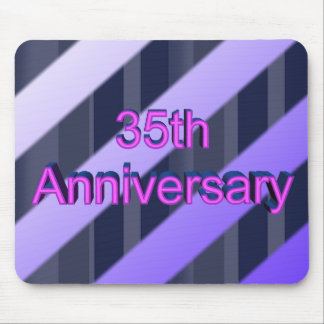 35th Wedding Anniversary Gifts Mouse Pads