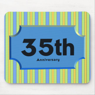 35th Wedding Anniversary Gifts Mousepad