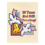 35th Wedding Anniversary Gifts Postcard