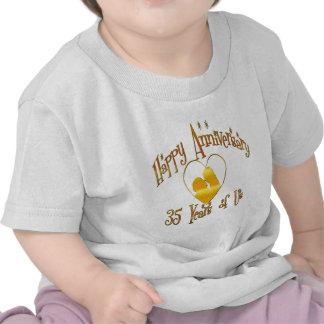 35to. Aniversario Camisetas