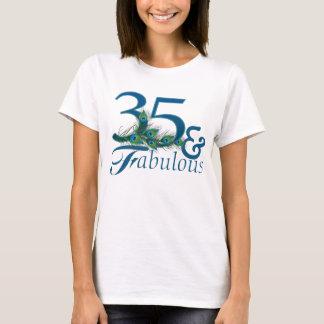 35to Camisetas del cumpleaños