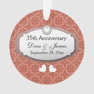 35to Coral Z22 del aniversario de boda del