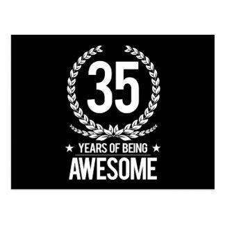 35to Cumpleaños (35 años de ser impresionantes) Postal