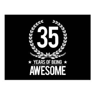 35to Cumpleaños (35 años de ser impresionantes) Tarjetas Postales