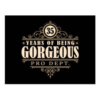 35to Cumpleaños (35 años de ser magníficos) Postal