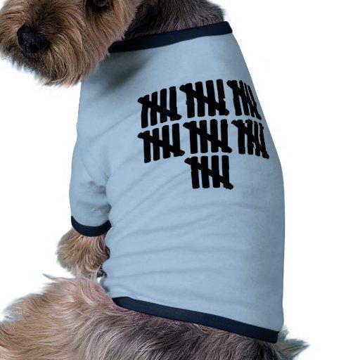 35to cumpleaños camiseta con mangas para perro