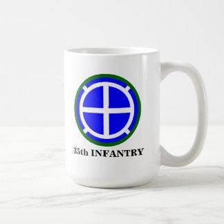 "35to División de infantería ""Santa Fe "" Taza Básica Blanca"
