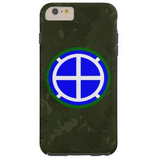 """35to División de infantería """"Santa Fe"""" verde Funda Para iPhone 6 Plus Tough"""