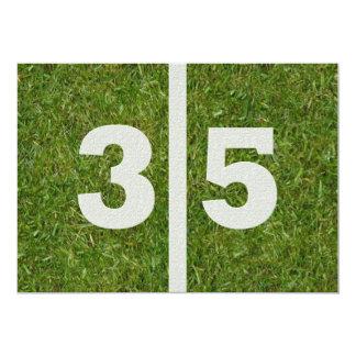 35to Invitación del fiesta del fútbol del