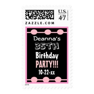 35to Nombre de encargo D231 del año del sello de