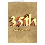 35to Regalos del aniversario de boda Felicitacion
