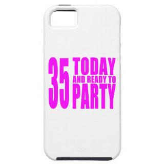 35tos cumpleaños de los chicas: 35 hoy y aliste iPhone 5 fundas