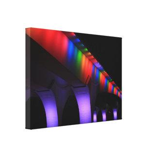 35W Bridge Minneapolis - Gay Pride Stretched Canvas Prints