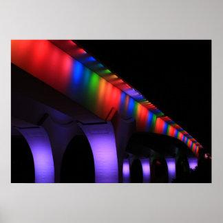 35W Bridge Minneapolis - Gay Pride Print