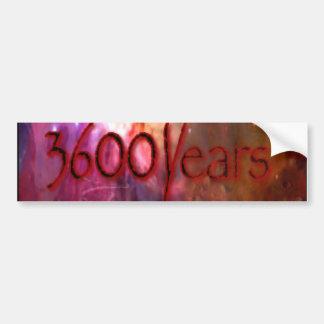 3600 años de pegatina pegatina para auto