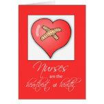 3600 Nurses Day Heartbeat Greeting Card