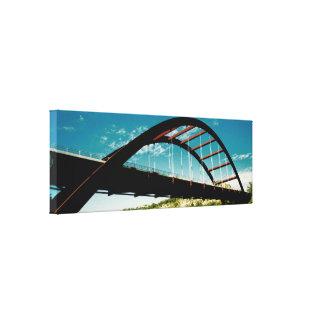 360 Bridge (Austin) Canvas Print